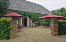 Am Übergang vom Niederkamp zur Leucht: Das Cafe-Restaurant Baerlaghof