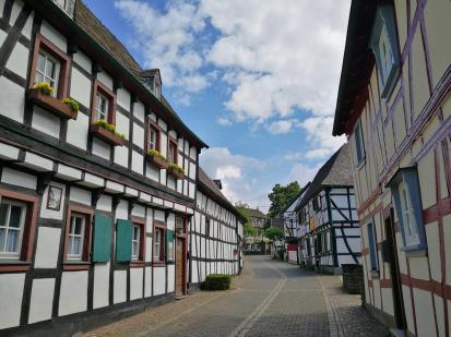 Fachwerkgasse Im Ortsteil Scheuren