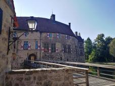Zugang zur Burg, in der das Münsterlandmuseum residiert