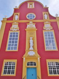 Frontseite der Gymnasialkirche der Jesuiten