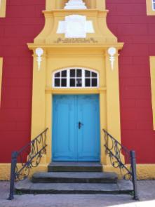 Portal der Gymnasialkirche