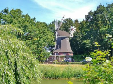 Die alte Höltingmühle an der Hase