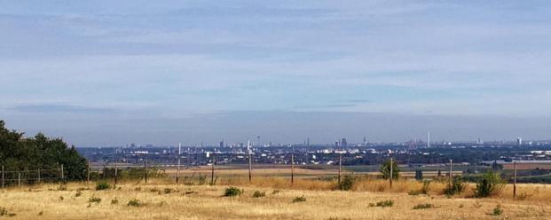Panoramablick Richtung Köln