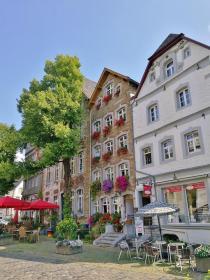 Häuser am Marktplatz von Kornelimünster