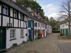 Häuser an der Burgstraße