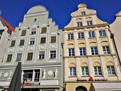 Häuser in der Maximilianstraße