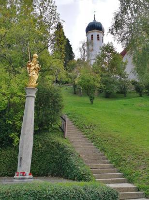 Wahrzeichen von Herrsching: Die Kirche St. Martin