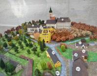 Modell der Klosteranlage Andechs
