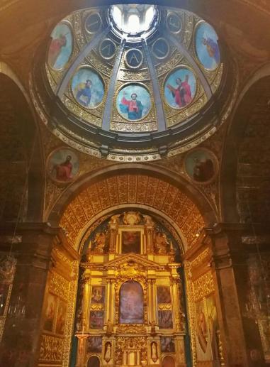 Der prächtige Hochalter der Wallfahrtskirche
