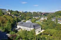 Blick vom Dent Creuse auf das Hospice Civil de la Ville