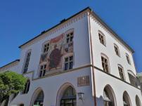 Das Rathaus in der Innenstadt