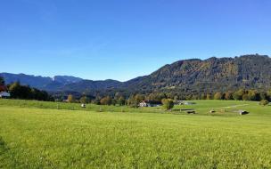 Blick von Wackersberg in Richtung Heigelkopf