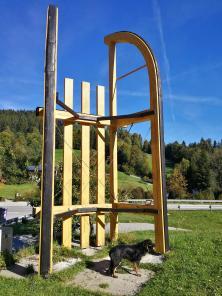 Am Skilift Blomberg: Wer hat denn da meinen Hovi geschrumpft?