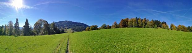 Panoramaaufnahme vom Buchberg