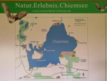 Orte am Chiemsee Wir stehen unten links in Felden.