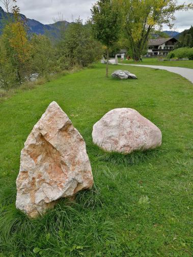 Die Steine des Alpenraums