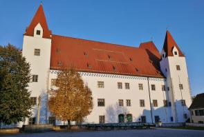 Das ehemalige Scloss von Ingolstadt, in dem heute das Bayerische Armeemuseum untergebracht ist