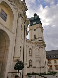 Blick auf den Glockenturm