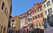 Altstadt-Ensemble an der Weißgerbergasse