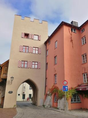 Der Rote Turm am Marktplatz