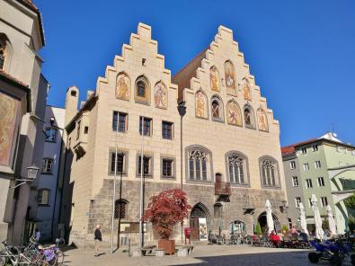 Das historische Rathaus am Marienplatz