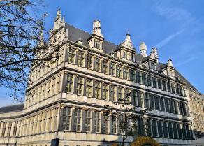 Das Genter Rathaus am Belfort