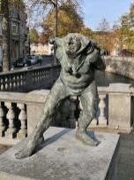 Skulptur an der Dijle