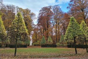 Im Schlosspark Benrath