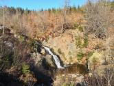 Der berühmte Bayehon-Wasserfall