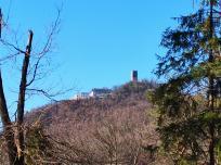 Oben auf dem Berg: Der berühmte Drachenfels