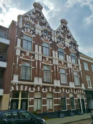 Typische Architektur in der historischen Innenstadt