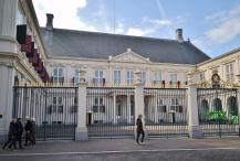 Das Paleis Noordeinde, offizieller Amtssitz der niederländischen Monarchie