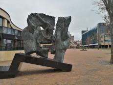 Kunst auf dem Vorplatz des AFAS Circustheaters