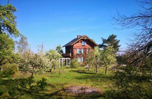 Idyllisch gelegens Haus mit Obstgarten oberhalb von Bad Belzig