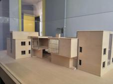 Modelle der Häuser