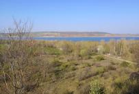 Blick zum Nordteil des Sees