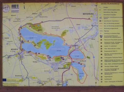 Karte des Sees