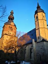 Seitenblick auf die Andreaskirche