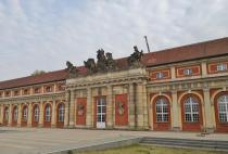Das Filmmuseum Potsdam im früheren Marstall des Stadtschlosses
