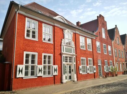 Häuserzeile im Holländischen Viertel