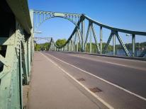 Die berühmte Glieniker Brücke