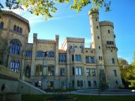Nordseite von Schloss Babelsberg