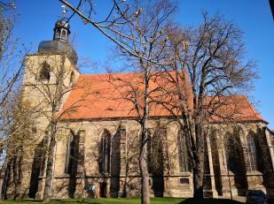 Die Stadtpfarrkirche von Querfurt