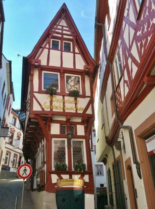 Schmales Häuschen in der Altstadt