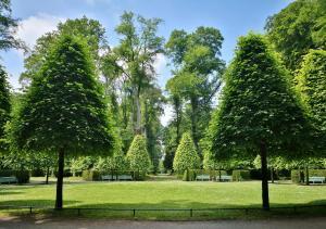 Rondell im Schlosspark