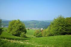 Blick über die Höhen des Westerwalds