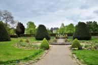 Ehemaliger Barock-Garten vor dem Alten Schloss in Perl