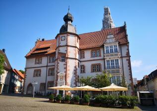 Das Rathaus am Marktplaz