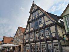 Fachwerkhäuser in der Altstadt von Gifhorn
