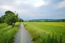 Auf dem Weg zur Domäne Marienburg
